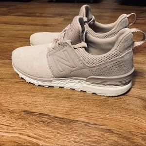 Size 7.5 New Balance 574 Sport Light Pink Sneakers
